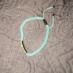 Light blue/turquoise Michael Kors bracelet